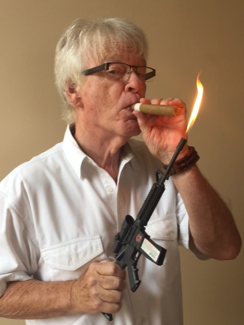 Jim Quinn lights up with SAFE-Act approved assault lighter